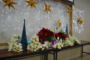 金城教会のクリスマス 集会室での様子