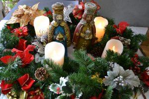 金城教会のクリスマス飾り